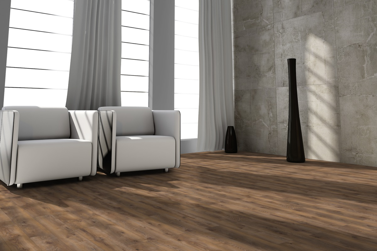Sono Pro Forest Designboden Landhausdiele Dark Canyon PVC-frei 4,5 mm