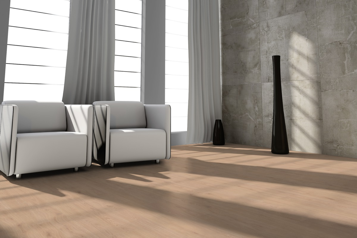 Komplett-Set Sono Pro Skyline Designboden Landhausdiele XXL Field of Vis. PVC-frei 4,5 mm