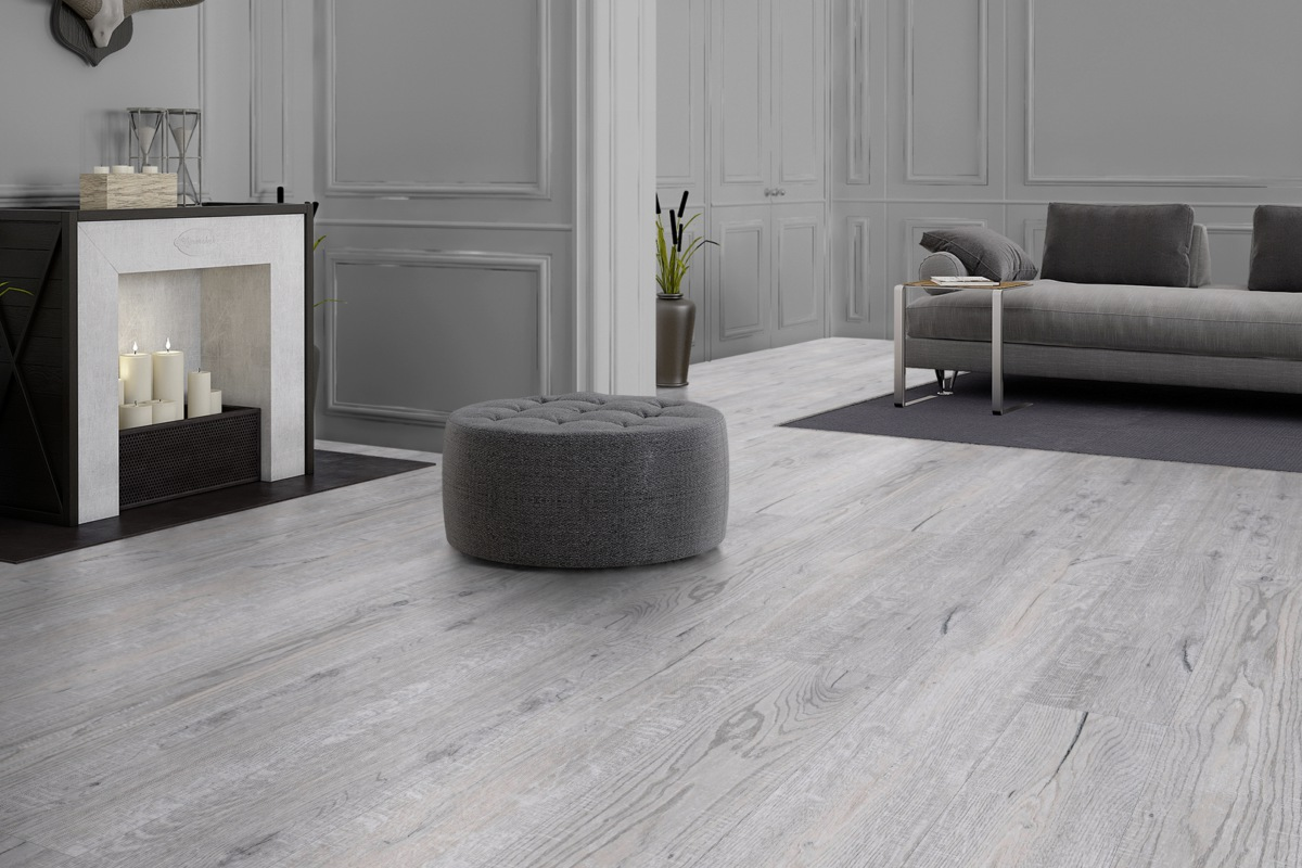 Komplett-Set NEO 2.0 Designboden Landhausdiele XL Salted Oak PVC-frei 4,5 mm