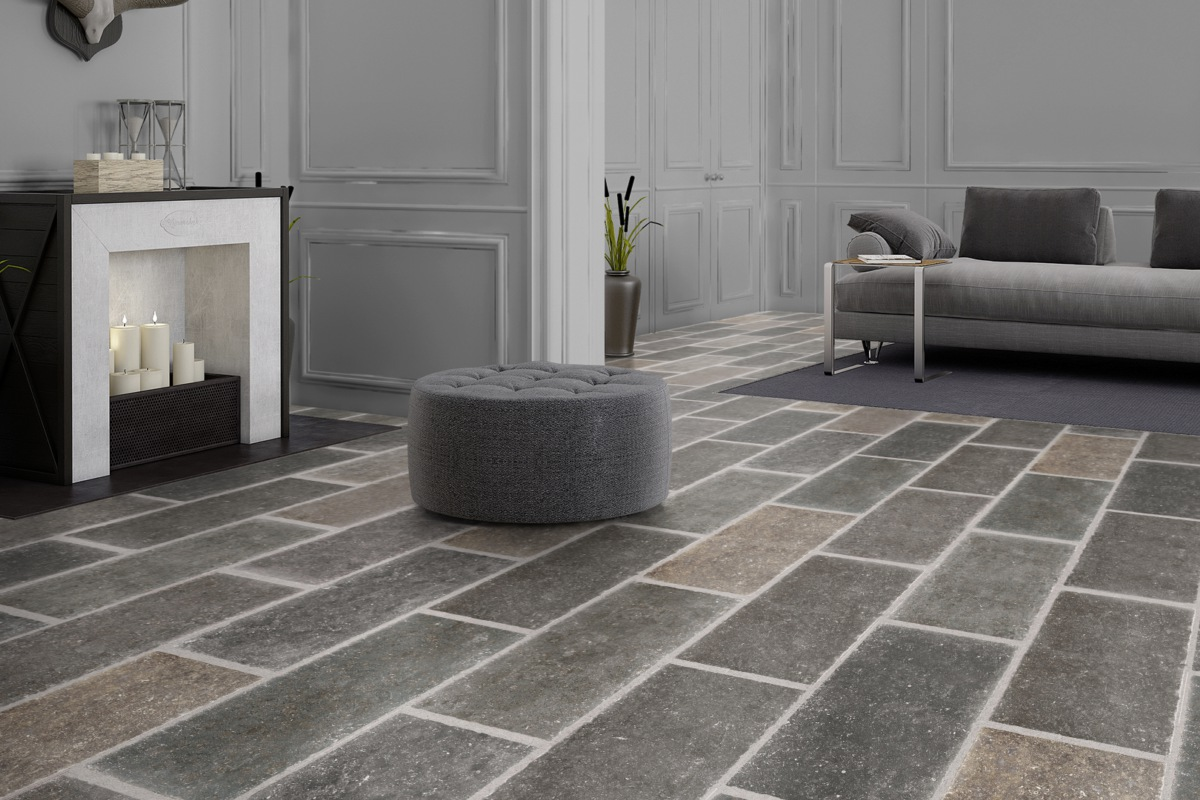 VisioGrande Laminat Autentico Fliese Belgisch Granit 8 mm